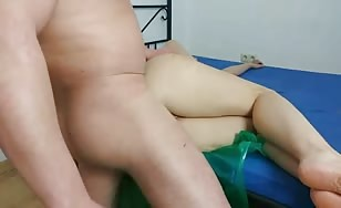 Pink haired girl fucked hard
