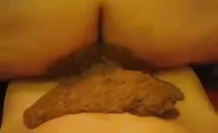 Fat babe rides dick like crazy